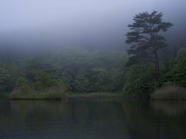Bikki pond (Tsuchiyu pass, Fukushima, JAPAN)