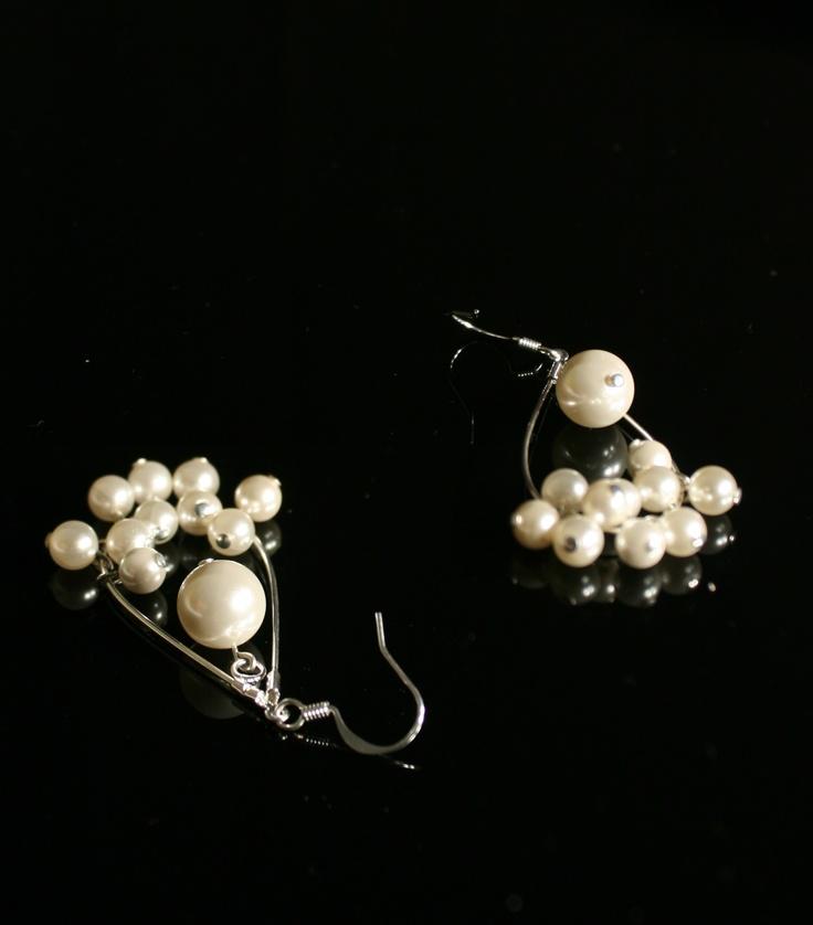 Ardwen - Cercei din perle de Mallorca
