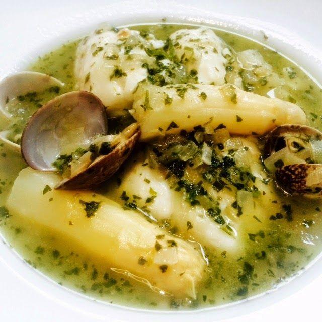 La cocina de Monis: Merluza en salsa verde con almejas