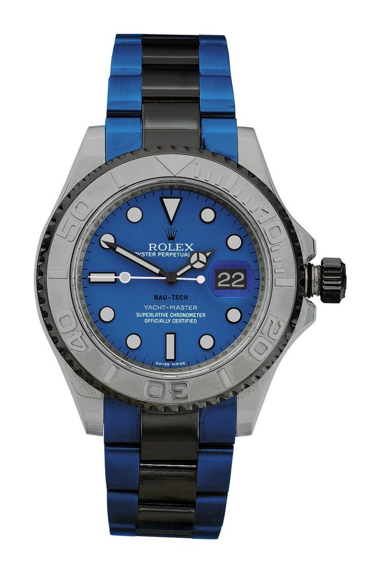 Finally! Colorful Coatings For Most Metals: Rau-Tech Custom Rolex And Other Watches Watch Releases - gold watches for sale cheap, mens watches for sale online, best watches for women *ad