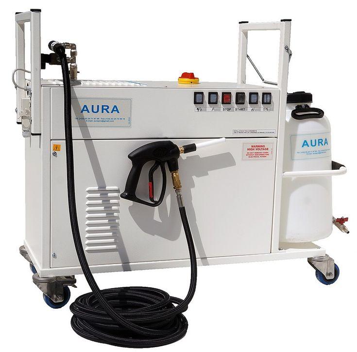 Aura Nettoyage vapeur seche industriel agro alimentaire, nettoyeur vapeur  industriel