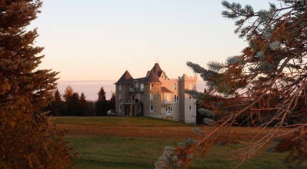 chateau with landing strip