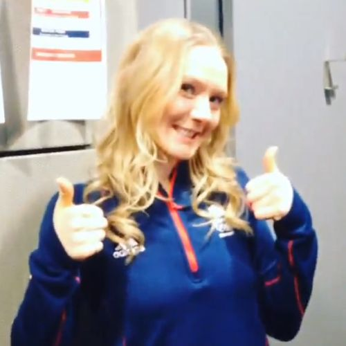 Amanda Lightfoot, Team GB biathlete