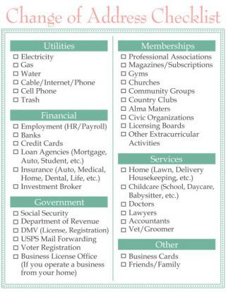 23 best Movers - Checklists images on Pinterest Home buying - house inventory list template