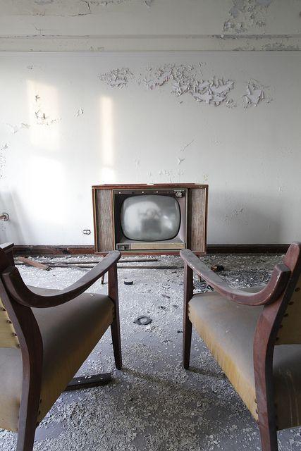 Abandoned hotel room, Detroit.