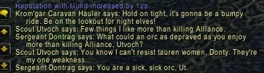 Bit of a funny little conversation from Ashenvale #worldofwarcraft #blizzard #Hearthstone #wow #Warcraft #BlizzardCS #gaming