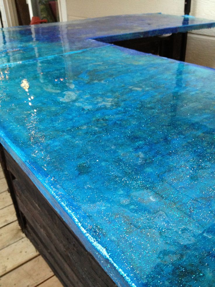 Decoupage With Fabric For Countertop Bar Pinterest