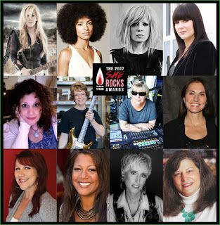 Lita Ford Esperanza Spalding: She Rocks Awards 2017 announce the Nominees   CONGRATULATIONS TO THE 2017 SHE ROCKS AWARD HONOREES Join us on January 20 2017 at the Anaheim Hilton Hotel during the NAMM Show to honor these amazing women!  Monique Boyer director global artist relations/PRO membership at M.A.C. Cosmetics  Rebecca Eaddy marketing communications manager for Roland Corporation U.S.  Lita Ford legendary rock guitarist vocalist and songwriter  Beverly Fowler director of artist…