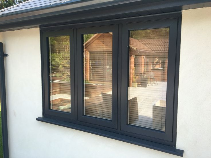 Grey Flush Sash Casement & 14 best TWS uPVC Windows u0026 Door Installations images on Pinterest ...