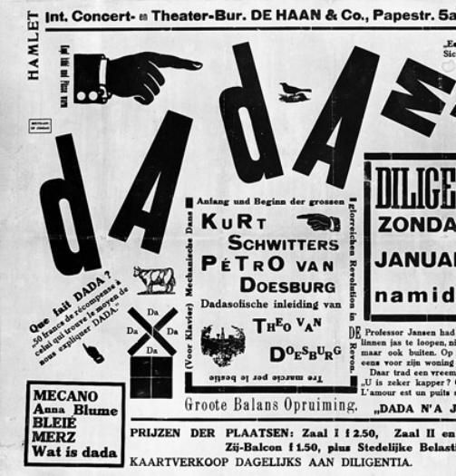 D@d@ist Poetry by Raoul Hausmann