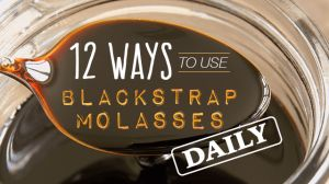 12 Ways to Use Blackstrap Molasses Daily I can't wait to start using this with my morning granola and almond milk!