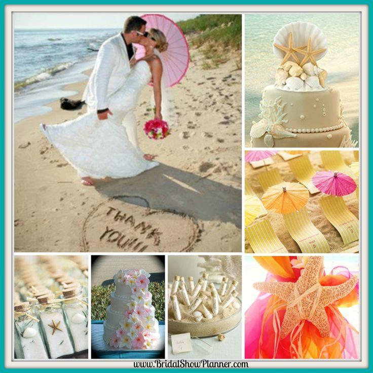 Wedding Aisle Decorations. Visit www.BridalShowPlanner.com to plan your wedding today! #Wedding #WeddingPlanning #Brides #BeachWeddings #SummerWeddings