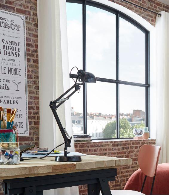 Lampe De Bureau Colours Tutti Noir Lampe De Bureau Castorama Et Lampe Architecte