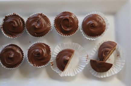Homemade Peanut Butter Cups | Sweets | Pinterest