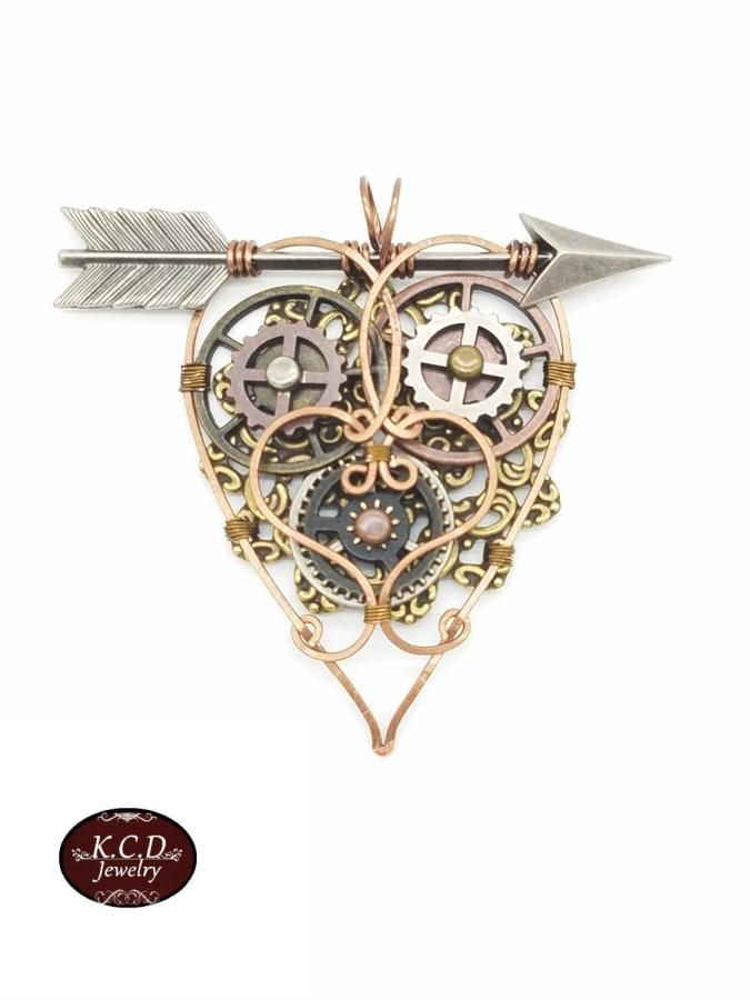 My Funky Valentine's! - Jewelry creation by kimberly newman