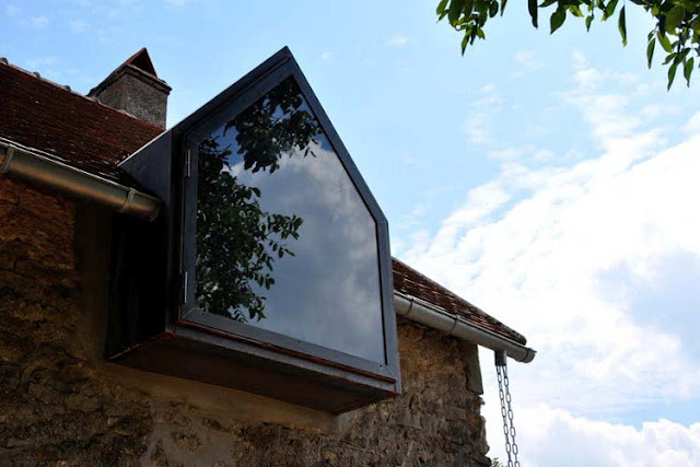 Love this cheeky modern dormer window.  www.methodstudio.london
