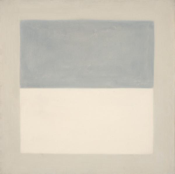 Agnes Martin, Rain (study), 1960