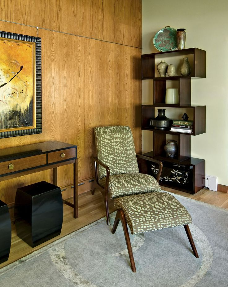 Contemporary Living Room   Modern   Living Room   Minneapolis   2009 ASID  Showcase House Award Winning Mid Century Modern Interpretation Designed By  Pat ...