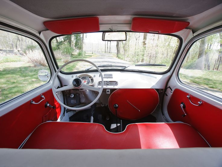Interior Fiat 600 D Multipla '1960–67