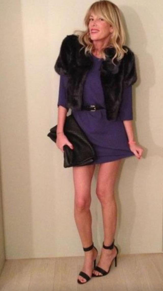 Alessia Marcuzzi  Borsa Luxuryfashion Pret A Couture