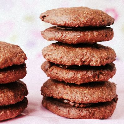 Richa: Chocolate whoopie pie cookies filled with spicy chile Chocolate ...