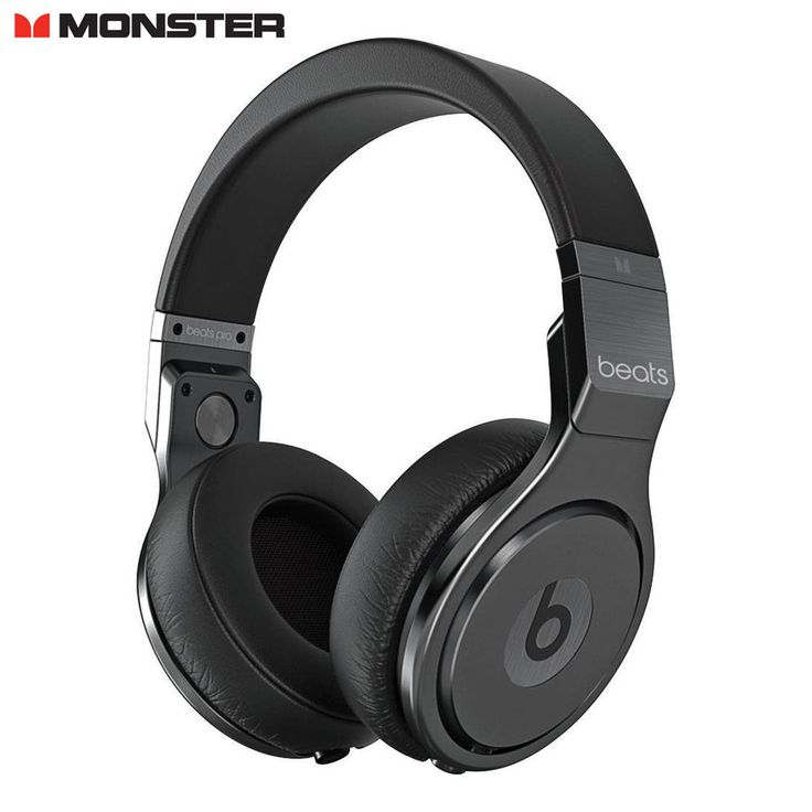 Monster Beats Pro Detox Limited Edition Headphones Black #BeatsbyDrDre
