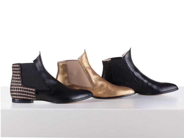 Lord Marke, Tristan, Golden, Ankle Boots, Nappa Leather, Handcrafted in Italy, Lamperti Milano