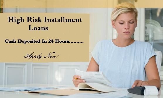 High risk loans are one of the such monetary services that can be obtained when no other solution comes to you to help you overcome your funds crisis.The major advantage that the borrower can take out of such monetary services is that they can make their credit better by paying the monthly installments on time to complete. It is unsecured Installment Loans understand your worry and present to you the high risk installment loans.