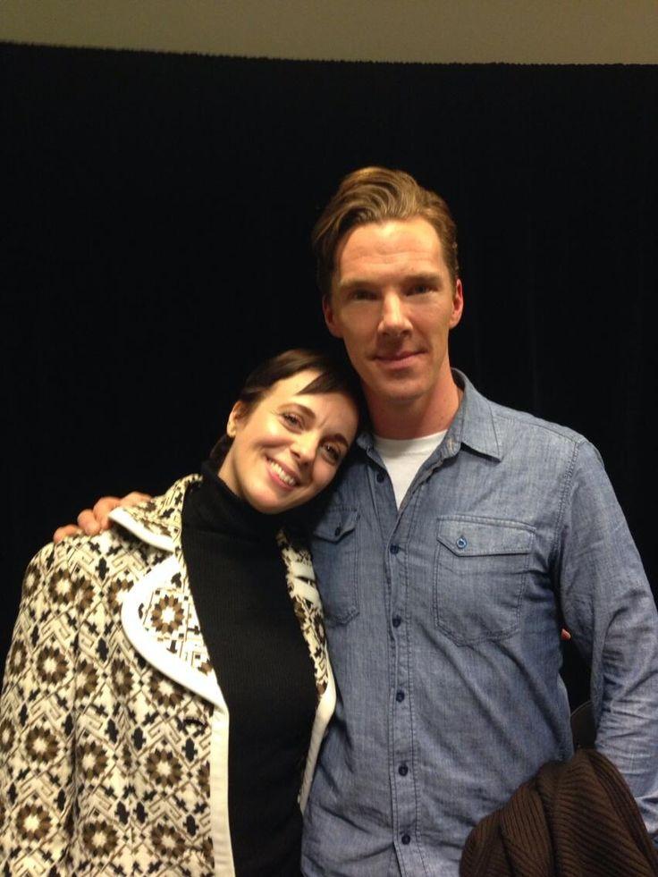 Benedict and Amanda Abbington