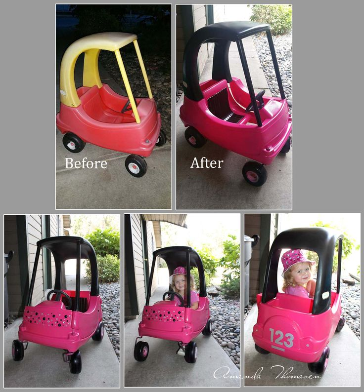 Little Tykes Car Makeover