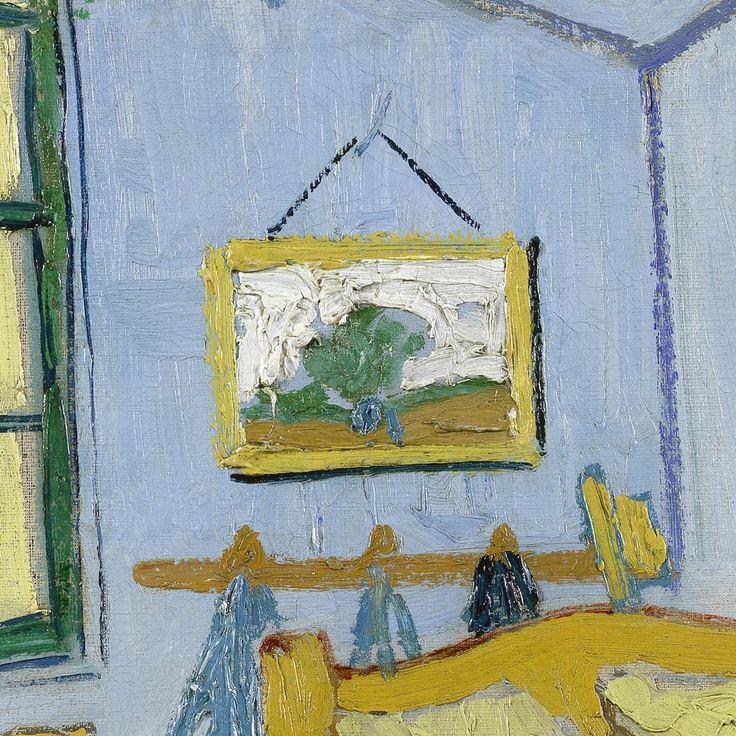 Bedroom in Arles (detail) Vincent van Gogh van Gogh