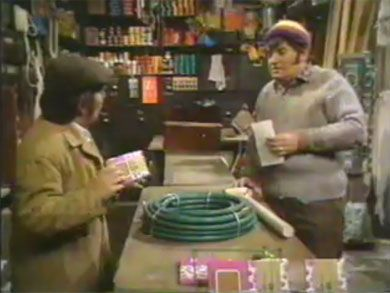 Two Ronnies, Fork Handles.