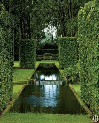 landscape architect ronald van der hilst reimagines a garden in the netherlands love this so green beautiful
