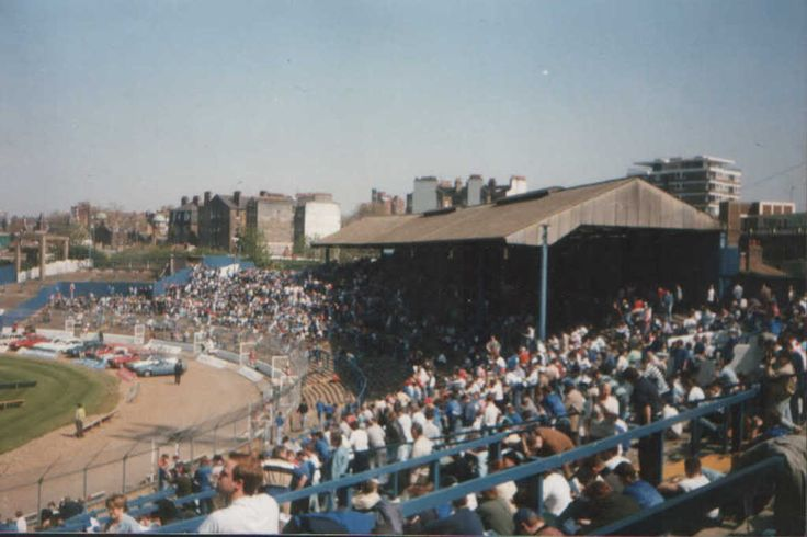 My second home in the seventies - The Shed End at Stamford Bridge.