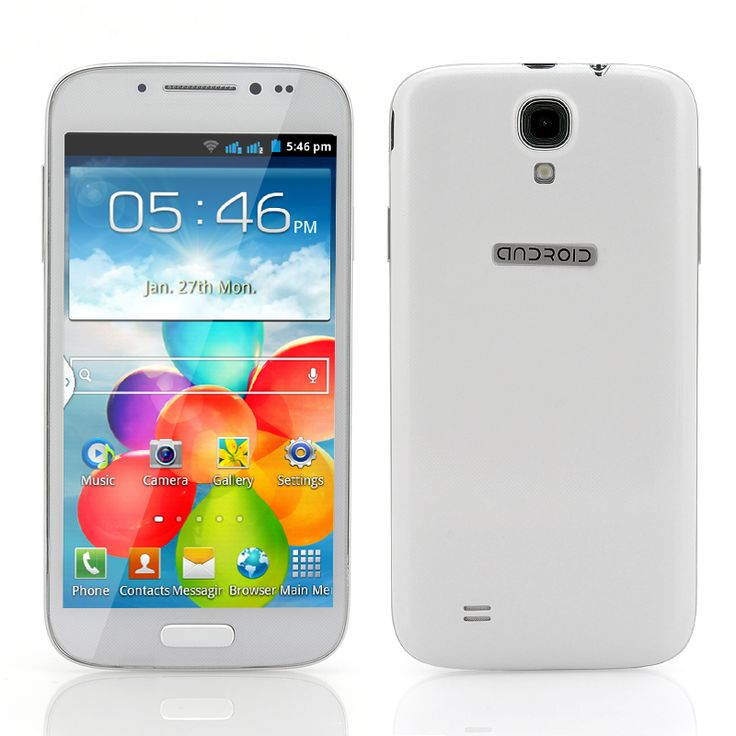 Stallion - 4.7 Inch Android Mobile Phone (Spreadtrum SC6820 1GHz CPU, 2200mAh, White)