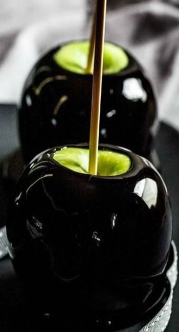 Would you eat this 'poison' apple? #hautehalloween
