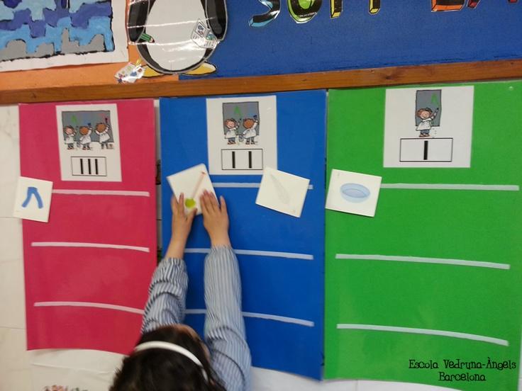 Joc de picar paraules. Escola Vedruna-Àngels (Barcelona)