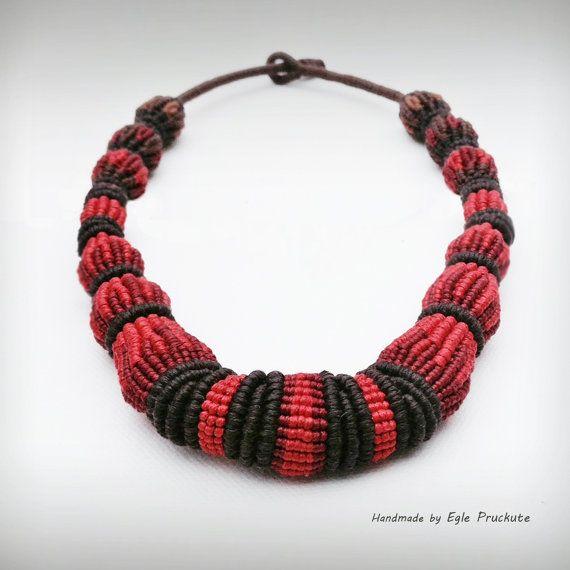 Handmade Jewelry, Statement Bead Necklace Choker