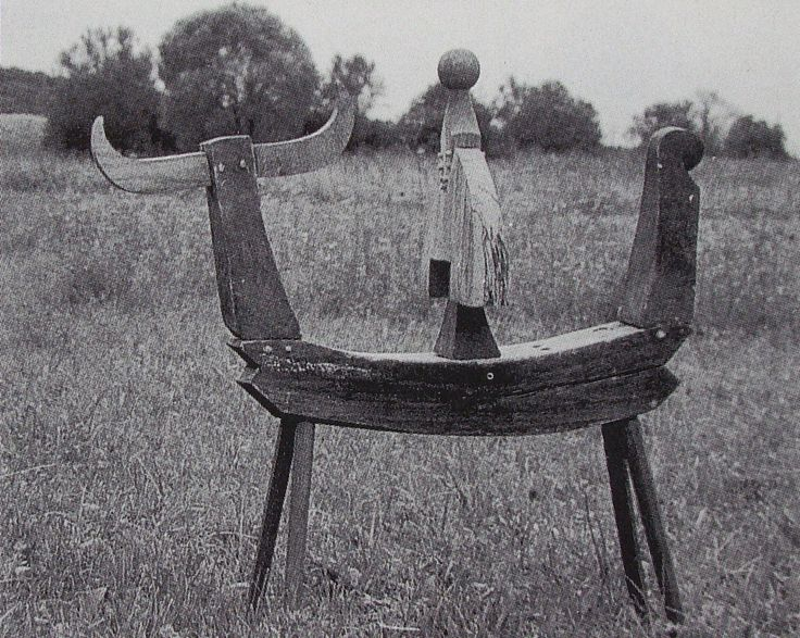 Geza Samu - Wooden Knight, 1970-1971