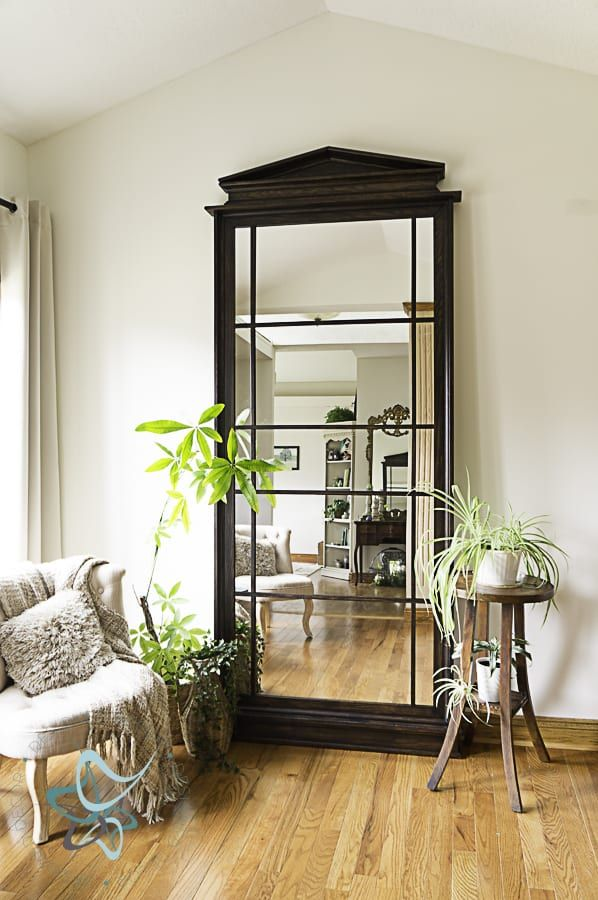 Build A Beautiful Leaning Floor Mirror Designed Decor Leaning Floor Mirror Floor Mirror Mirror Dining Room 8 foot mirror for wall