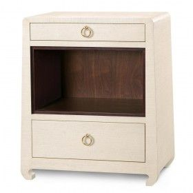 Bungalow 5 Ming 2-Drawer Side Table - Natural