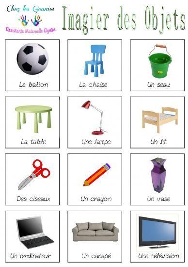 Imagiers objets