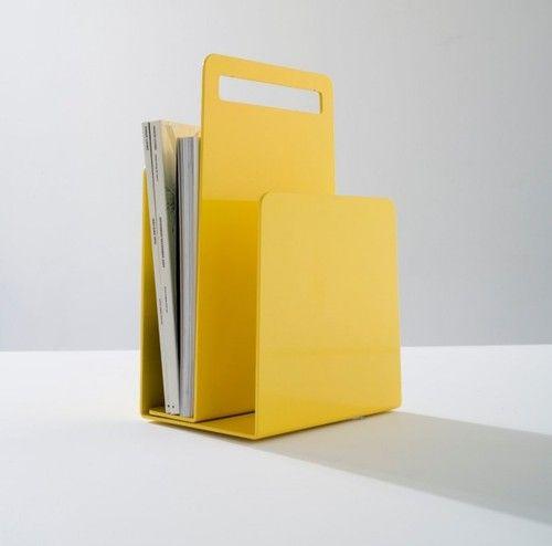 Alfred Magazine Rack by Seaton Mckeon and DesignByThem
