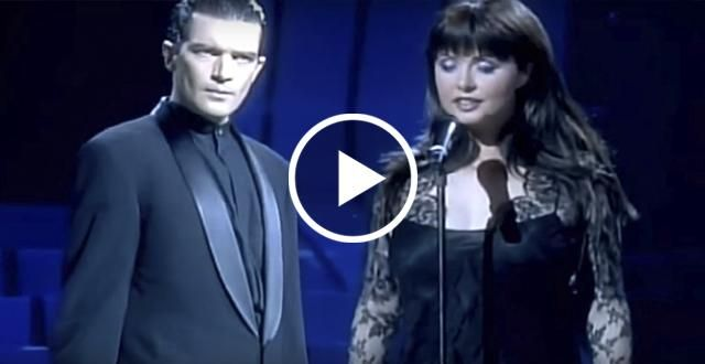 Антонио Бандерас и Сара Брайтман — «Призрак оперы»