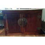 Image of Antique Asian Filing Cabinet with 4 Drawers
