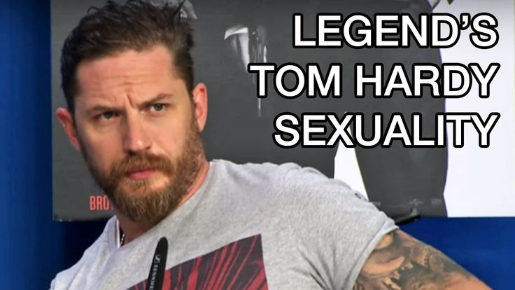 Tom Hardy Legend Interview Sexuality Question TIFF 2015 Press Conference #TIFF15 #TIFF #Movies #Movie #Film #TomHardy
