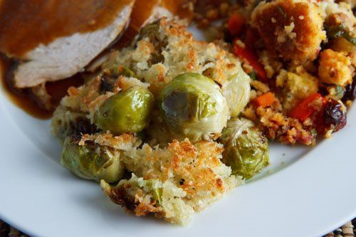 Roasted Brussels Sprouts Gratin : Roasted Brussels Sprouts Gratin #Roasted #Brus…   – Low carb