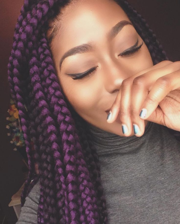 result box braids two