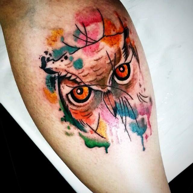 Great Field Beauty Queens Queen Tattoo Ems Art Owl Watercolor