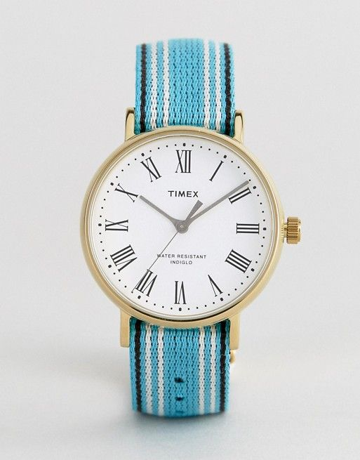 Timex Fairfield Avenue Reversible Nato Watch With White Dial Exclusive To ASOS